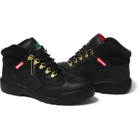 Supreme®/Timberland® Field Boot (Black)