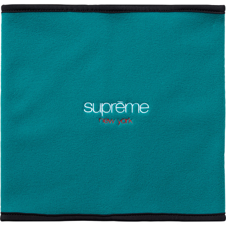 Polartec® Fleece Neck Gaiter (Teal)