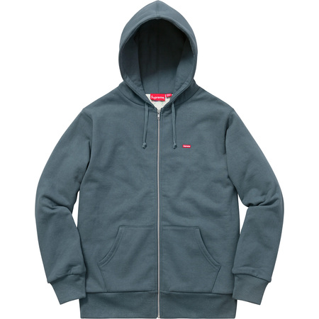 Small Box Thermal Zip Up Sweat (Slate)