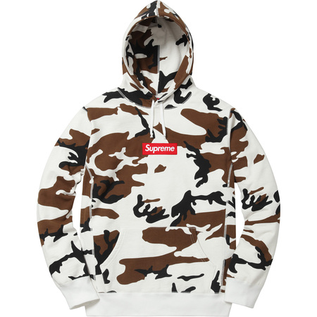 Box Logo Hooded Sweatshirt (Brown Camo)