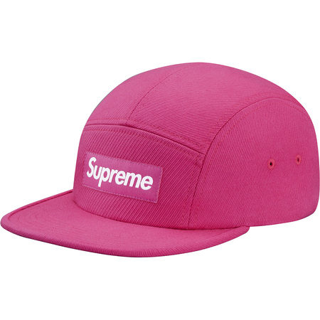 Cavalry Twill Camp Cap (Magenta)
