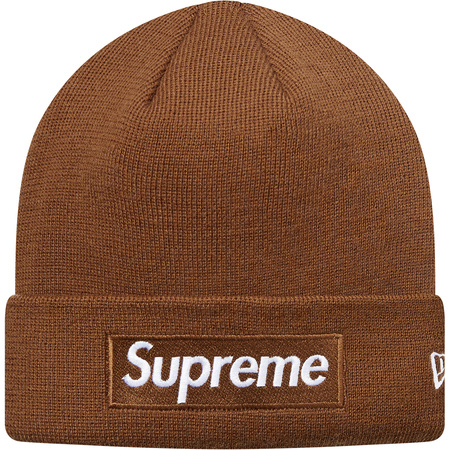 New Era® Box Logo Beanie (Brown)