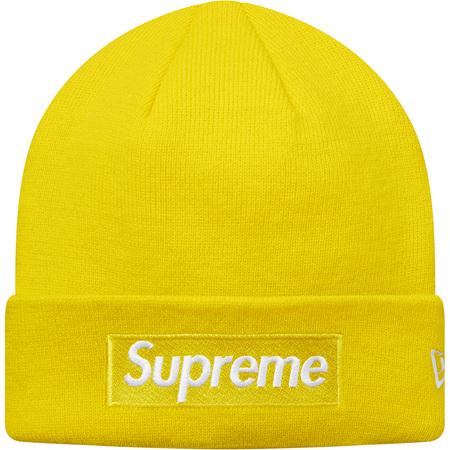 New Era® Box Logo Beanie (Yellow)
