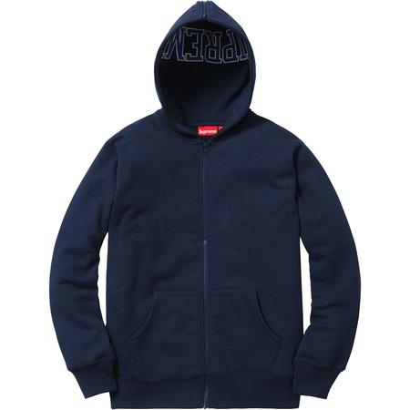 Split Hood Zip Up Sweat (Navy)
