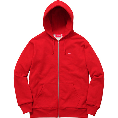 Small Box Thermal Zip Up Sweat (Red)
