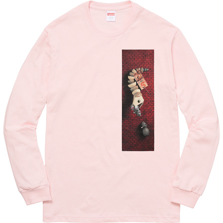 Mike Hill Snake Trap L/S Tee (Pale Pink)