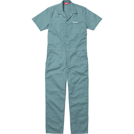 S/S Coveralls (Work Green)