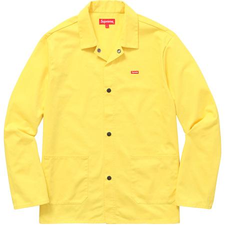 Shop Jacket (Light Yellow)