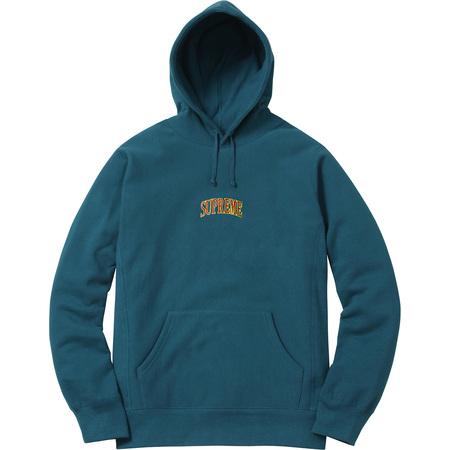 Glitter Arc Hooded Sweatshirt (Dark Teal)