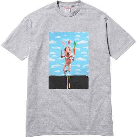 Mike Hill Runner Tee (Heather Grey)