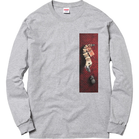 Mike Hill Snake Trap L/S Tee (Heather Grey)