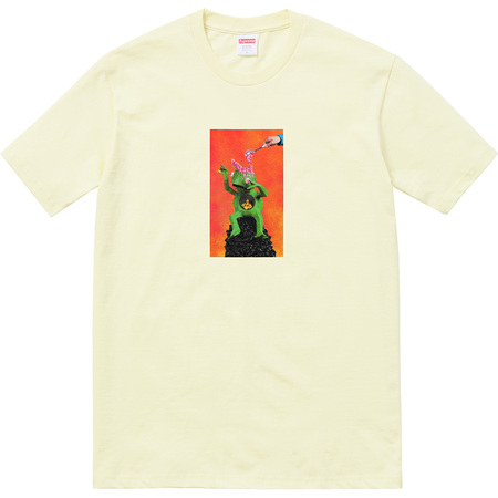 Mike Hill Brains Tee (Pale Yellow)
