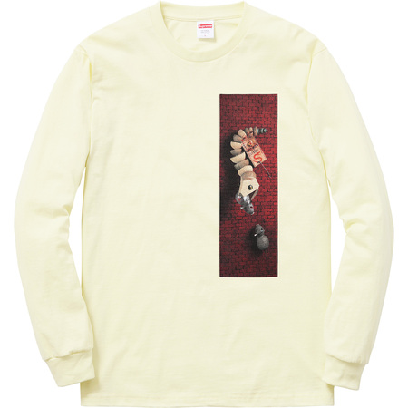 Mike Hill Snake Trap L/S Tee (Pale Yellow)