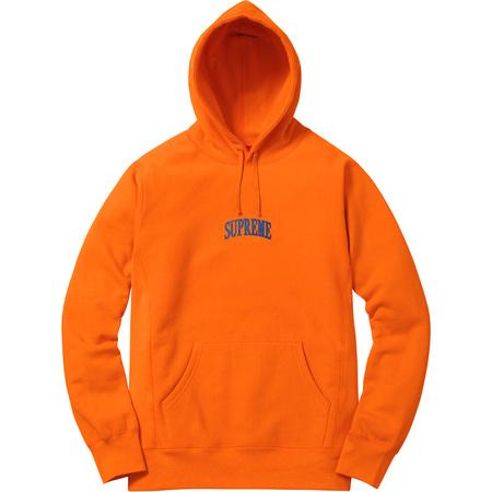 Glitter Arc Hooded Sweatshirt (Orange)