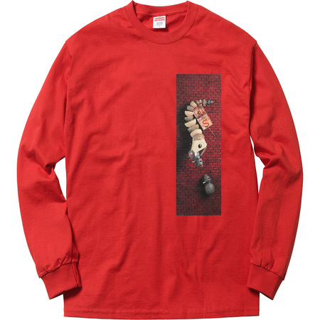 Mike Hill Snake Trap L/S Tee (Red)