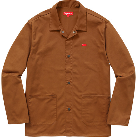 Shop Jacket (Rust Brown)