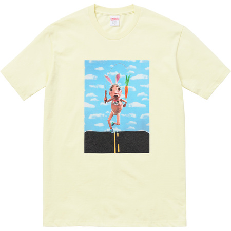 Mike Hill Runner Tee (Pale Yellow)