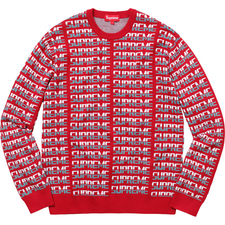 Repeat Sweater (Red)