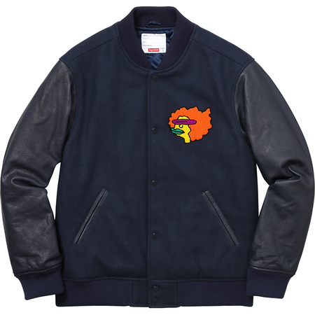 Gonz Ramm Varsity Jacket (Navy)