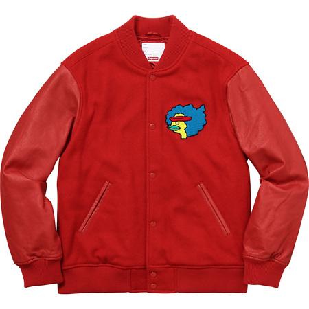 Gonz Ramm Varsity Jacket (Red)