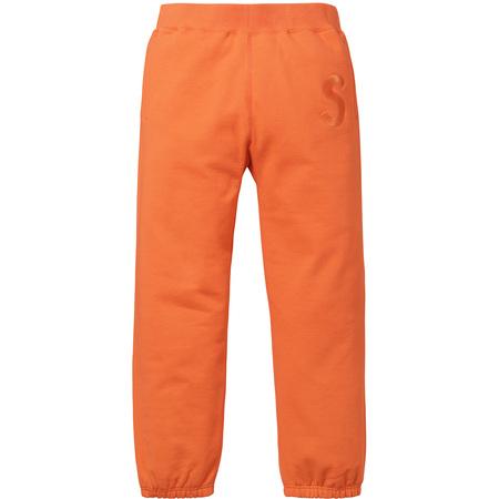 Tonal S Logo Sweatpant (Bright Orange)