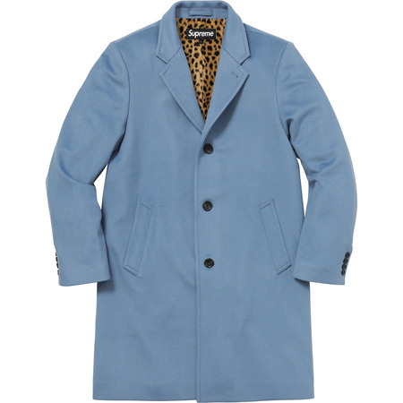 Wool Overcoat (Blue)