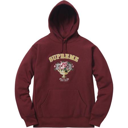 Centerpiece Hooded Sweatshirt (Burgundy)