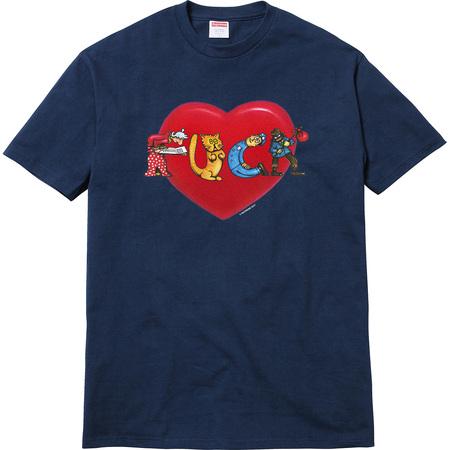 Heart Tee (Navy)