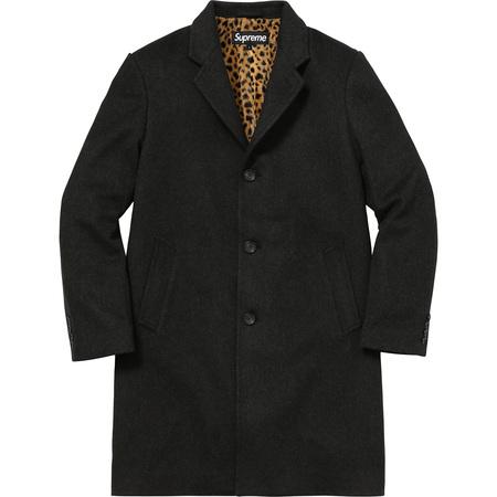 Wool Overcoat (Charcoal)