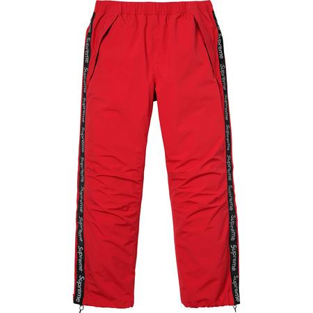 Taped Seam Pant (Red)