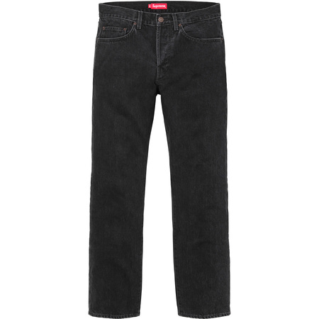 Stone Washed Black Slim Jeans (Washed Black)