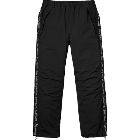 Taped Seam Pant (Black)