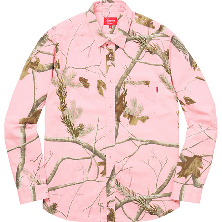 Realtree® Camo Flannel Shirt (Pink)