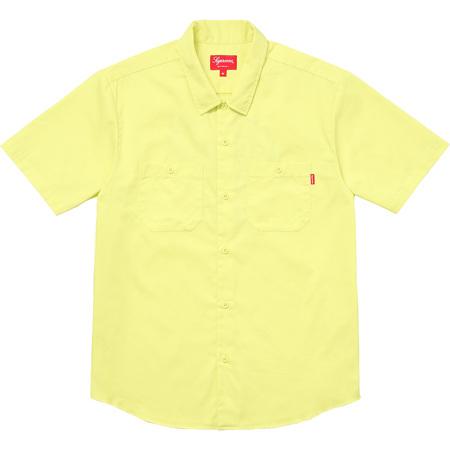 Gonz Ramm Work Shirt (Light Yellow)