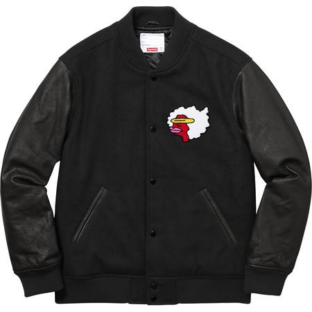 Gonz Ramm Varsity Jacket (Black)
