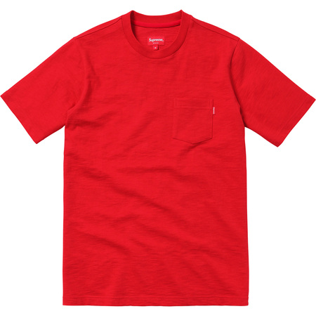 S/S Pocket Tee (Red)