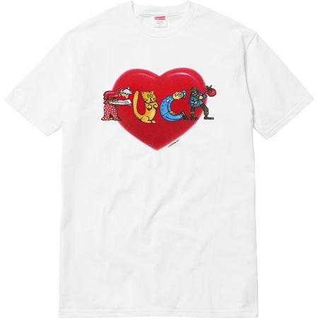 Heart Tee (White)