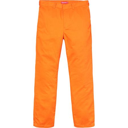 Work Pant (Orange)