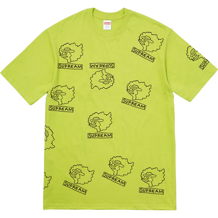 Gonz Heads Tee (Lime)