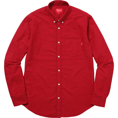 Oxford Shirt (Red)