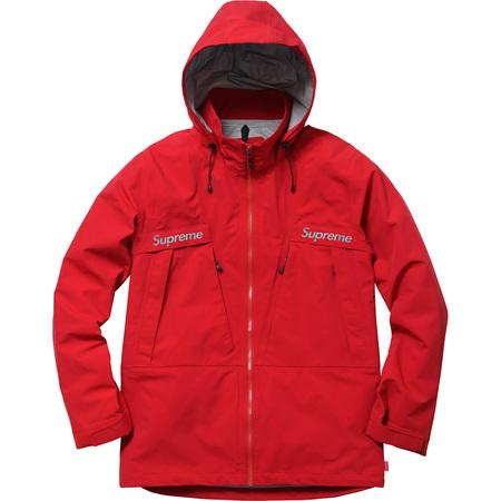 Taped Seam Jacket (Red)