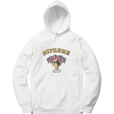 Centerpiece Hooded Sweatshirt (White)