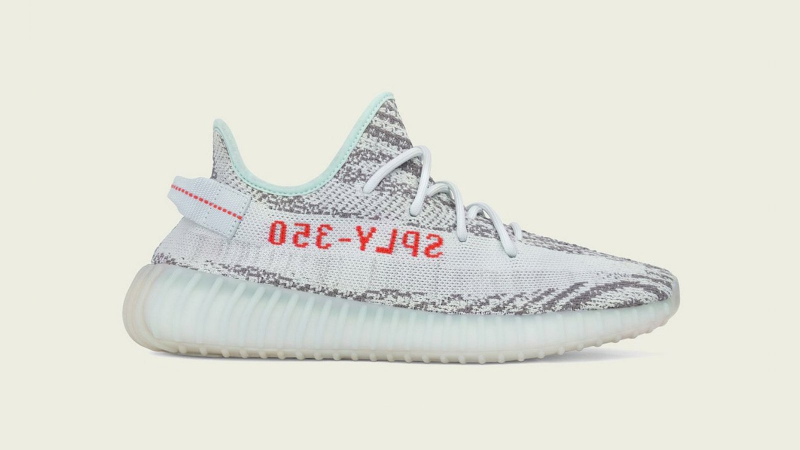 Adidas Yeezy Boost 350 V2 'Blue Tint' Setup Instructions