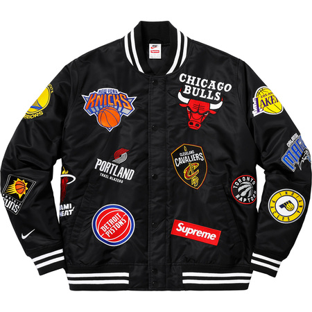 Supreme nike nba jacket
